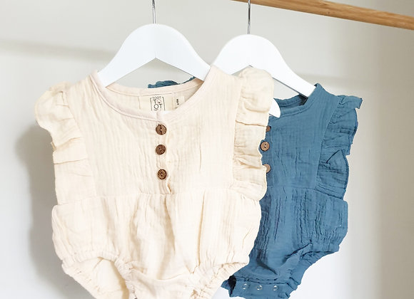 Toottoot Baby Springtime Rompers