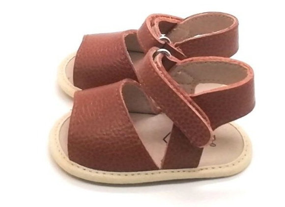 Stormi Leather Sandal Tan 6/12m