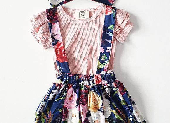 Toottoot Baby Enchanted Garden Flutter Top and Dress set
