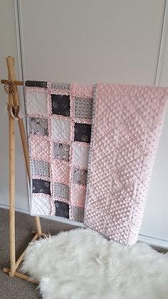 Bunny Hop Dream Patchwork Quilt Blanket