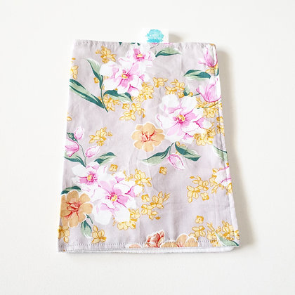 Walandella Designs Flowers In Bloom Burp Cloth
