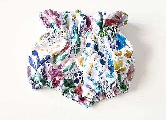 Walandella Designs Flower Paper Bag Bloomers size 0
