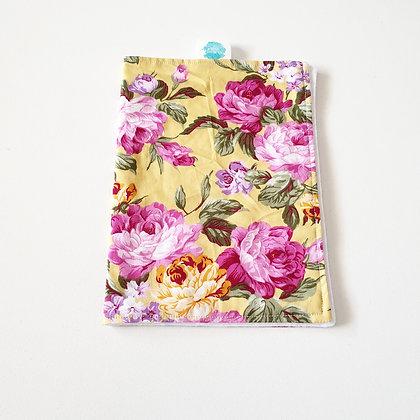 Walandella Designs Vintage Rose Burp Cloth