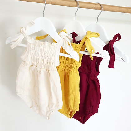 Toottoot Baby Summer Rompers