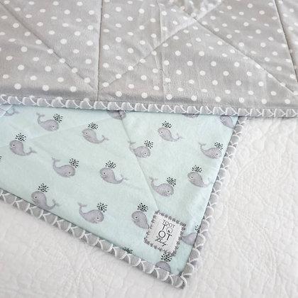 Sea Breeze Patchwork Quilt Blanket