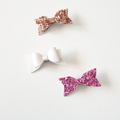Ivy Bow Collection Bow Clips