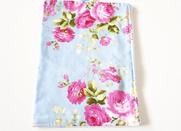 Walandella Designs Vintage Garden Burp Cloth