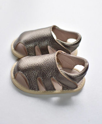 Scout Leather Sandal Bronze 6/12m
