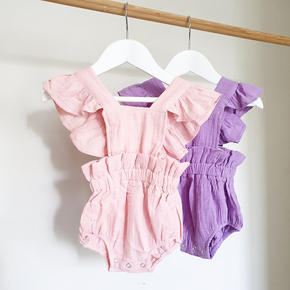 Toottoot Baby Ruffle Rompers