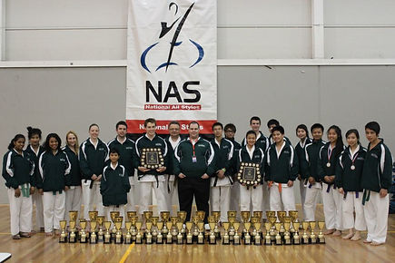 Karate school trophy wins at competition