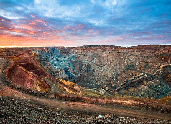 Super Pit Kalgoorlie Boulder, Western Australia.