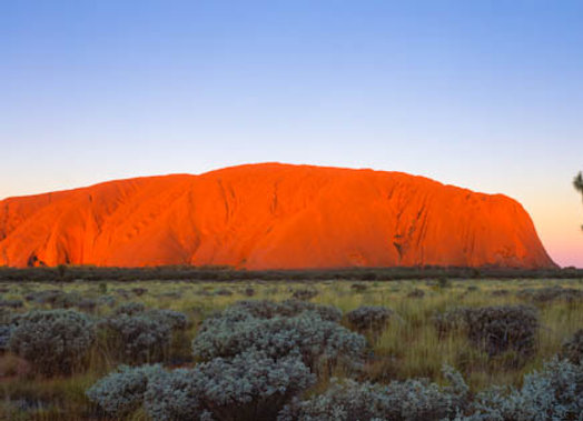 Ayers Rock, Northern Territory.