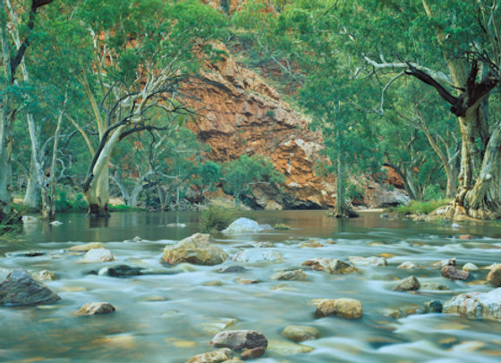 Ormiston Gorge After Rain, Northern Territory.