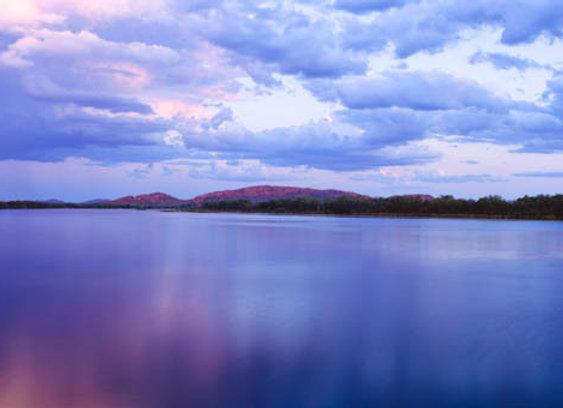 Lake Kununurra, Western Australia.