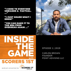 Podcast Interview - Inside the Game