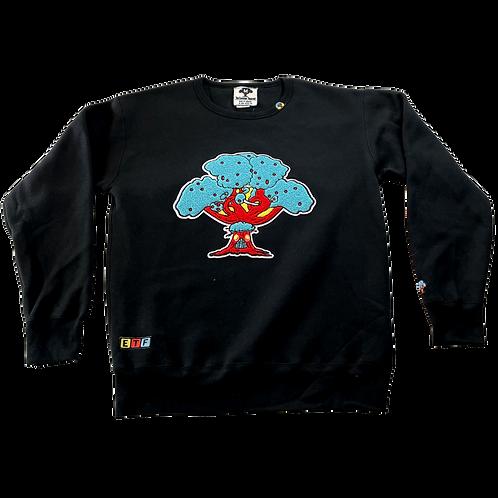 TreeFort Varsity Sweatshirt (Black)