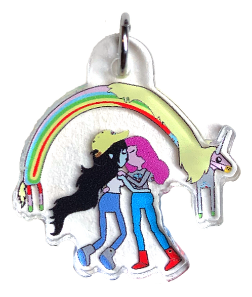 Bubbline Keychain
