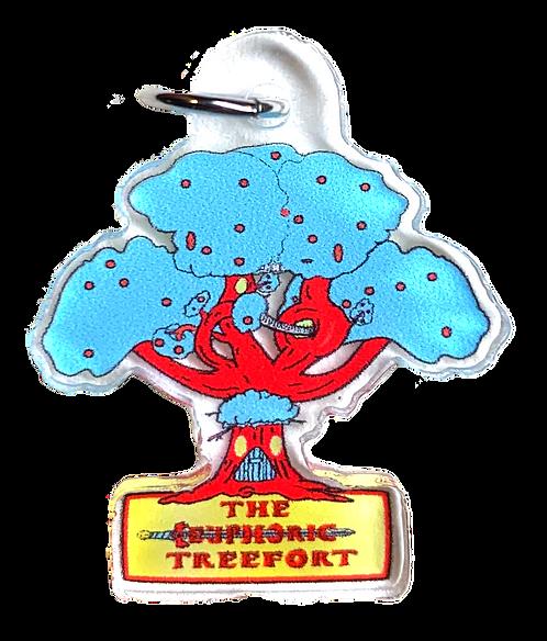 Treefort Keychain