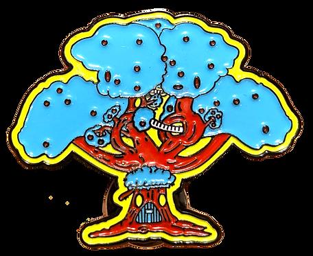 Treefort Enamel Pin