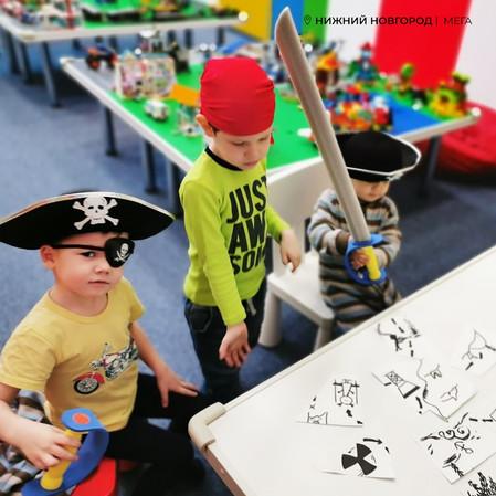 В Легород - Мега Нижний Новгород прошел праздник пиратов!