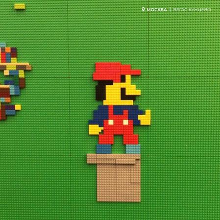 В Легород - Вегас Кунцево появился Марио!