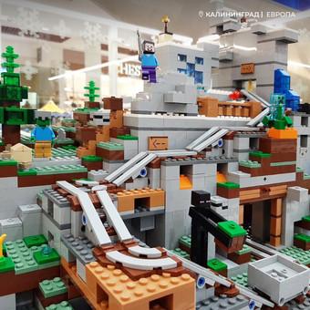 Встречайте горную пещеру из Lego в Легород - Калининград!