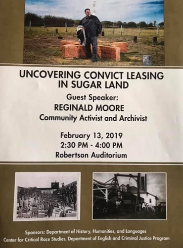 Uncovering Convict Leasing in Sugar Land