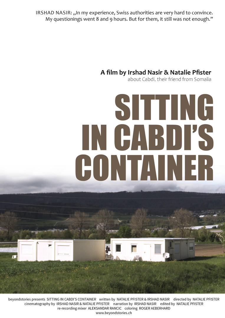 Sitting in Cabdi's Container