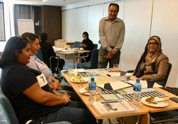 Decision Base-Pulling the same direction Training in Partnership with Golden Trust Bahrain . Organis