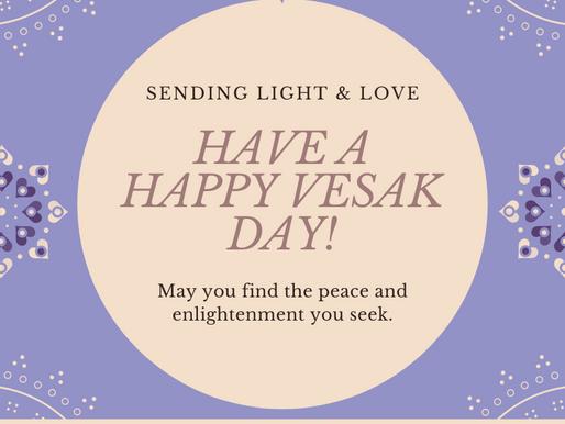 Happy Vesak Day!