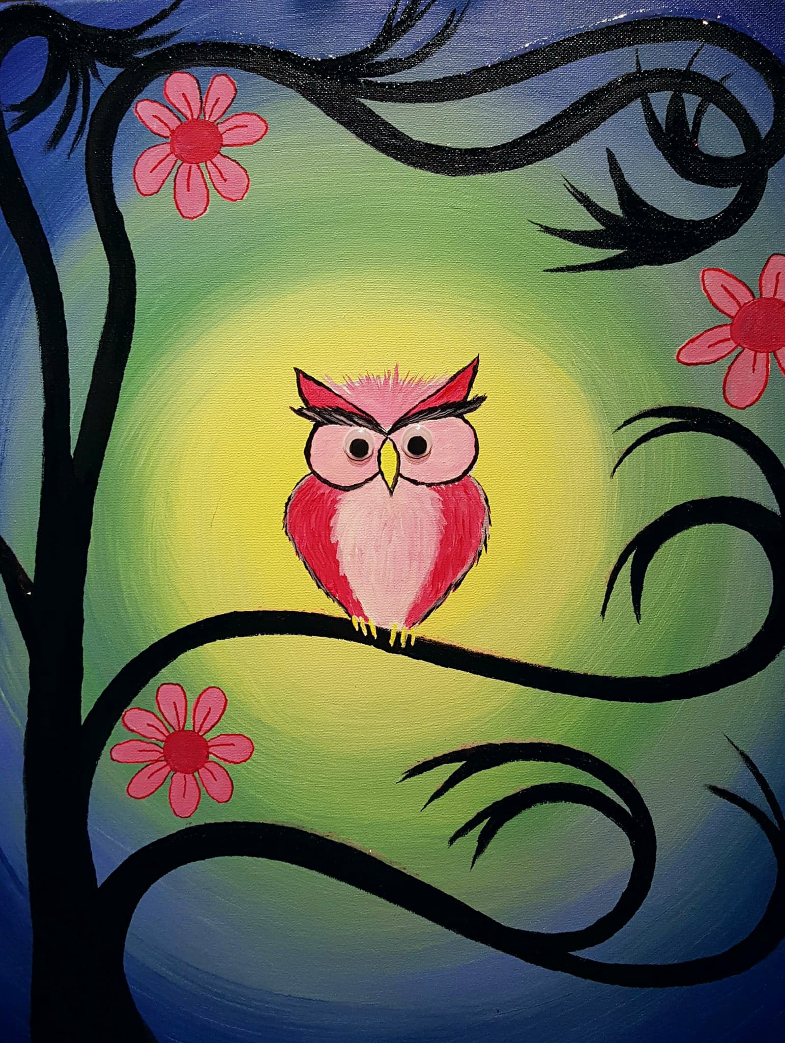 Moonlight Love Owl