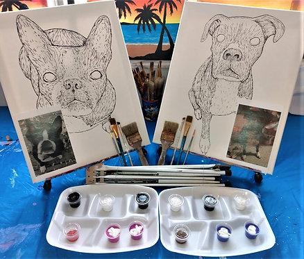 DIY Pet Paint Kit