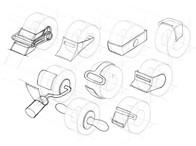 sketch tape cutter