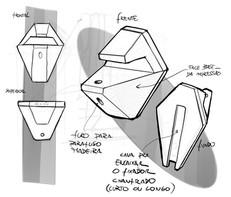 sketch prateleira
