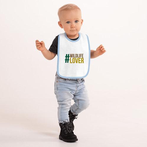 Wildlife Lover Baby Bib