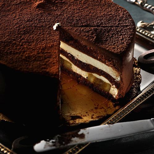芭娜娜-香蕉巧克力蛋糕