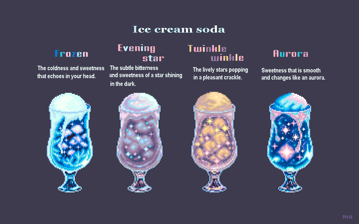 Ice cream soda