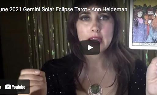 New Moon Tarot with Ann - June 10, 2021