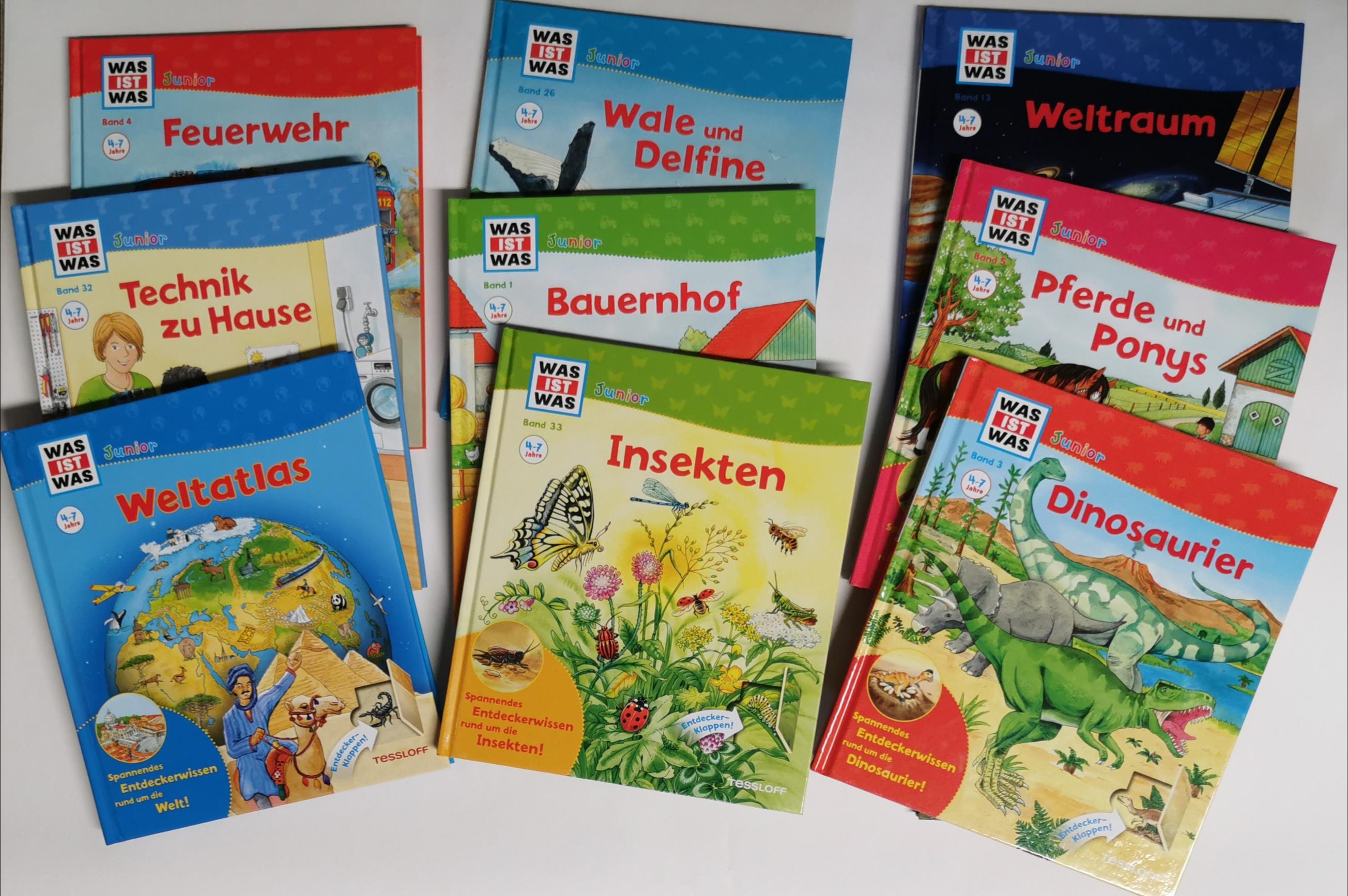 Sachbücher Junior