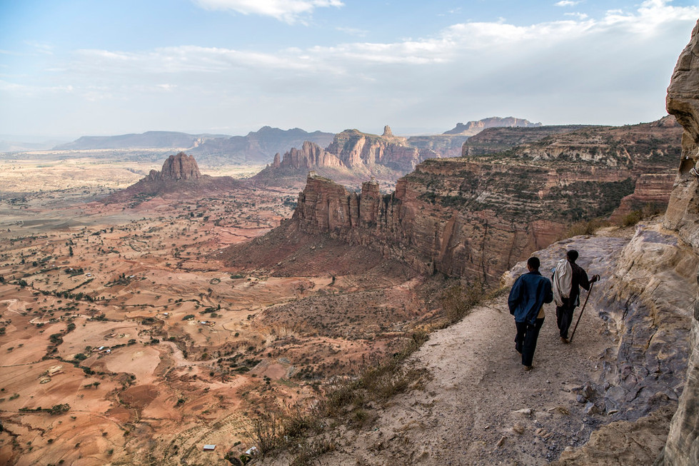 Some of the most stunning hikes in Ethiopia