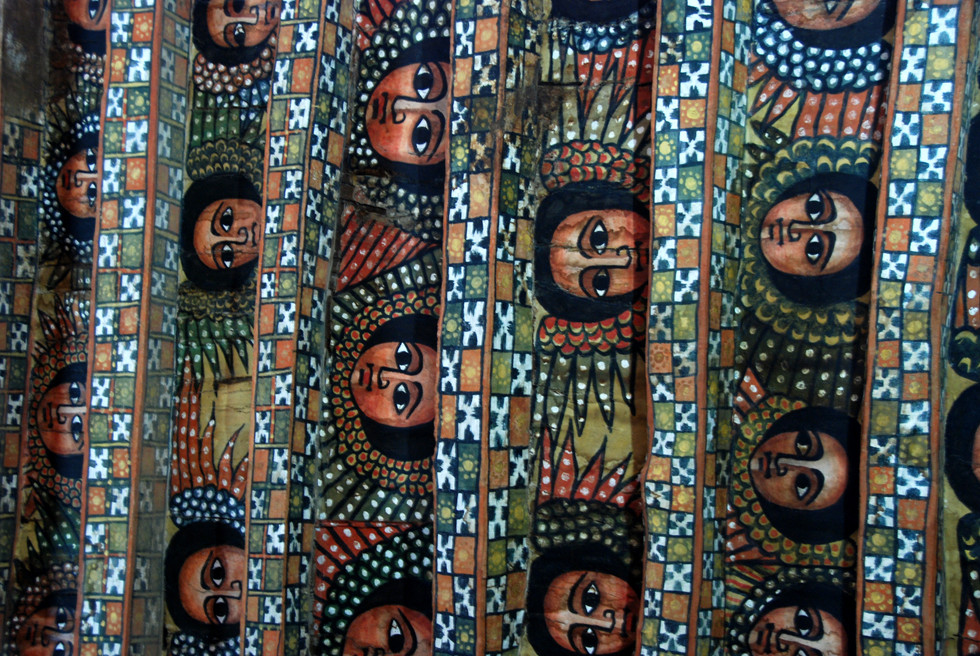 Marvel at the Debre Birhan Selassie Church, one of the most beautiful painted mural churches in Ethiopia