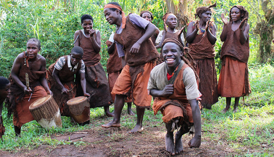 Learn about the Batwa forest people