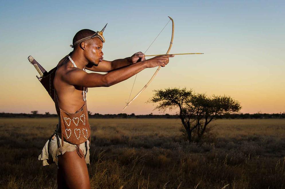 San Bushmen of the Kalahari