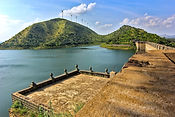 Vani Vilasa Sagara Dam - source of the V