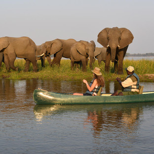 Canoeing the Chifungulu Channel