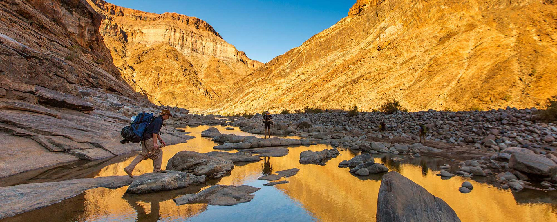 Hike the second-largest canyon in the world