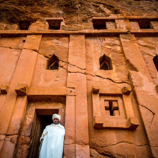 Discover the rock hewn churches of Lalibela