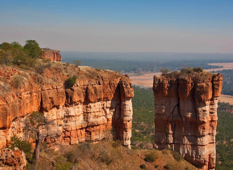 Stunning landscapes of the Chilojo Cliffs