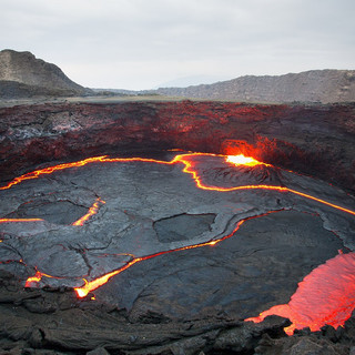 Witness the world's only permanent lava lake at Erta Ale Volcano