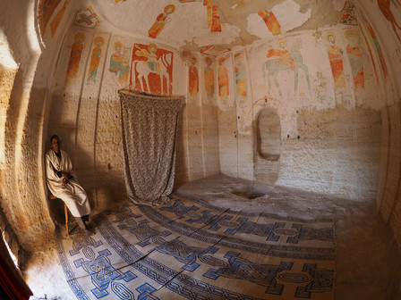 Witness the cave churches of Gheralta carved out of sandstone